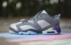 Air Jordan 6 Low GS Ultraviolet Girls