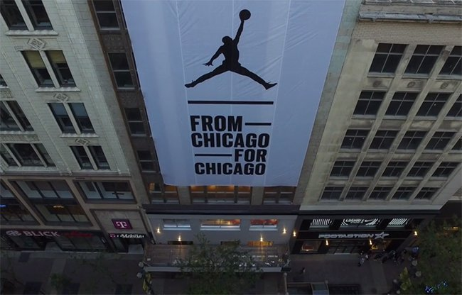 Jordan Brand Station 23 Chicago Opening