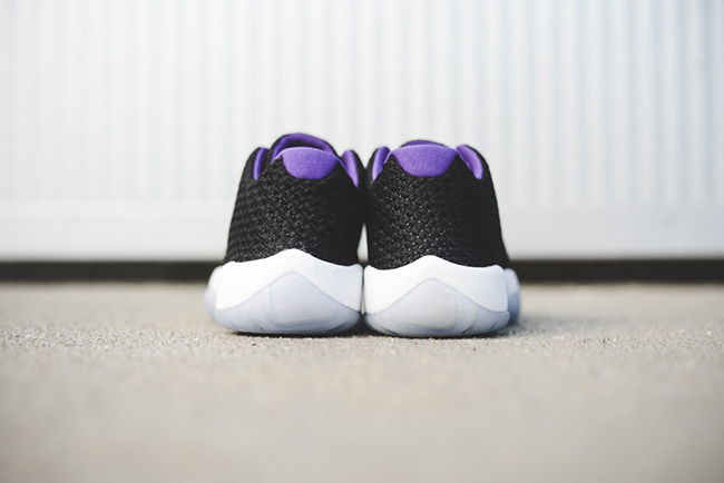 Jordan Future Low Black Purple Green