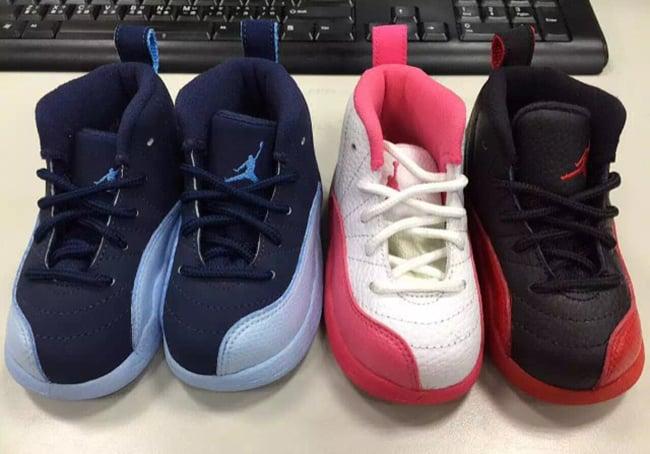 Kids Air Jordan 12 2016