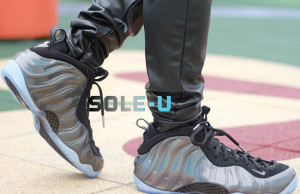 Nike Air Foamposite One Hologram On Feet
