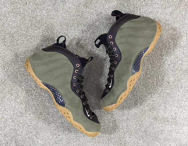 Olive Nike Air Foamposite One