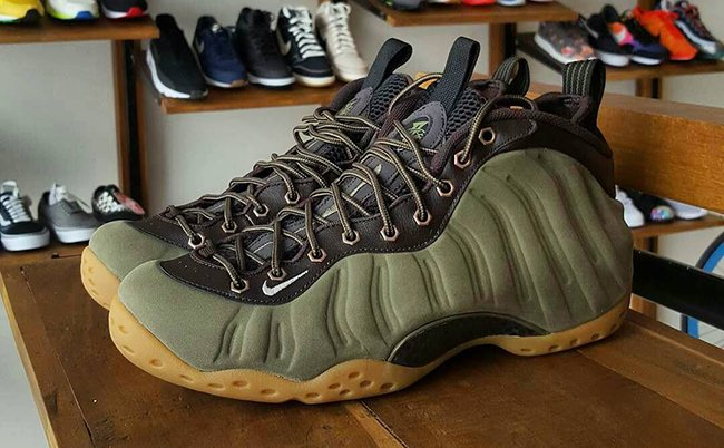 Nike Air Foamposite One Olive