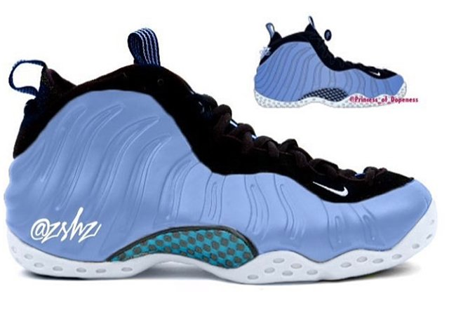 9ed191913d13d Nike Air Foamposite One University Blue 2016