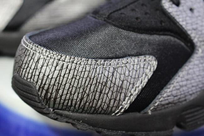 Nike Air Huarache Reptile Black Metallic Silver