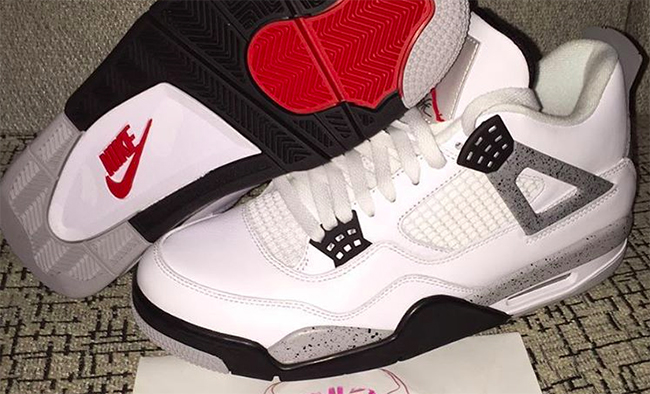 Nike Air Jordan 4 Retro 89 White Cement 2016