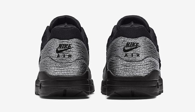 Nike Air Max 1 Metallic Silver Crackle