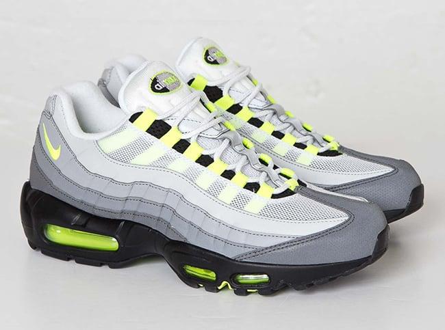 sale retailer ea7f7 6f5b5 Nike Air Max 95 3M Neon | SneakerFiles