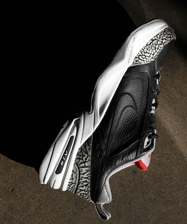 Nike Air Monarch IV Black Cement