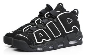 Nike Air More Uptempo Black White 2016