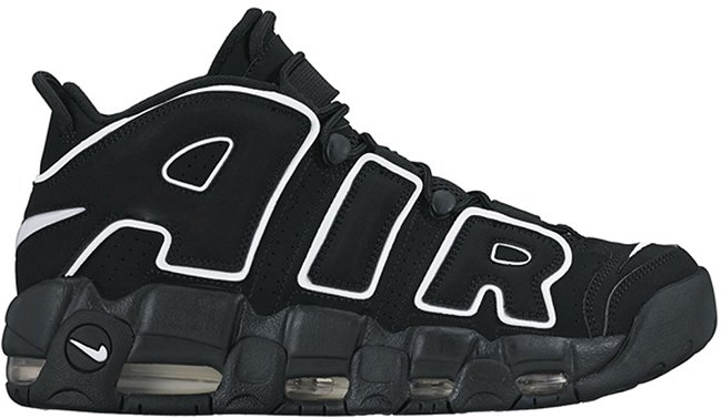 Nike Air More Uptempo Black White 2016 Release Date