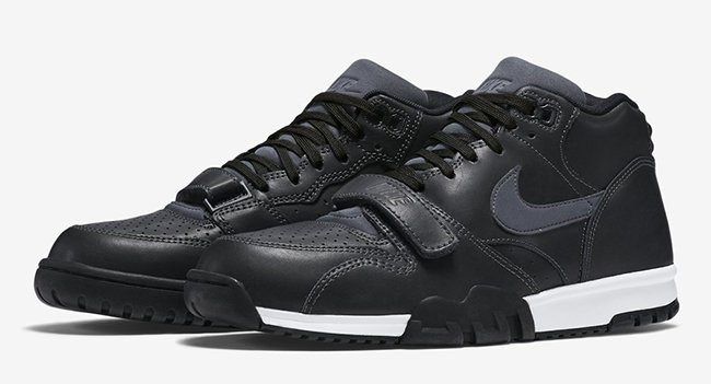 Nike Air Trainer 1 Black Leather