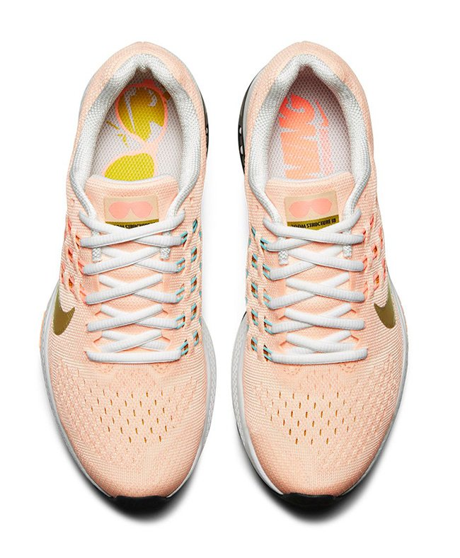 Nike Air Zoom Structure 18 MGR Womens Gold Rush
