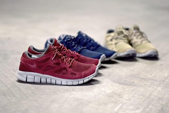 Nike Free Run 2.0 Suede Pack