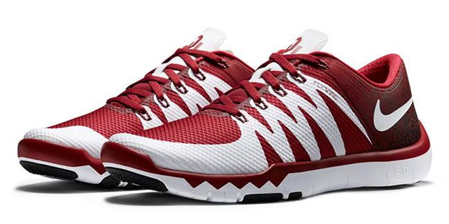 Nike Free Trainer 5.0 V6 Oklahoma Sooners