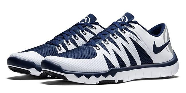 penn state nike free trainer 5.0 v6 shoes for plantar