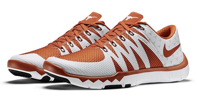 Nike Free Trainer 5.0 V6 Texas Longhorns