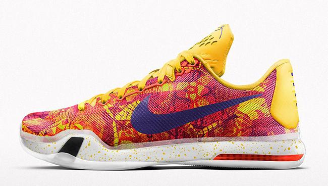 Nike Kobe 10 iD Sgt. Mamba