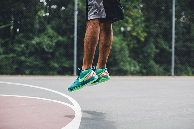 Nike Kyrie 1 Australia On Feet