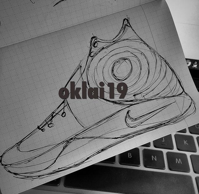 Nike Kyrie 2 Sketch