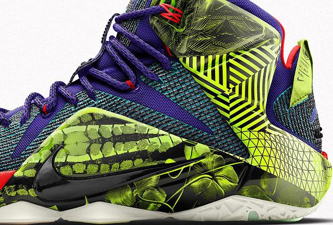Nike LeBron 12 iD Unlocked