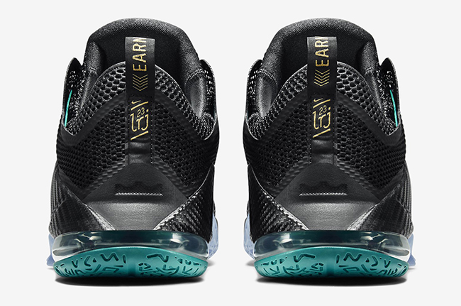 Nike LeBron 12 Low Carbon Fiber