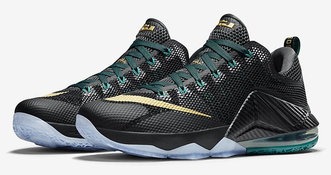 Nike LeBron 12 Low Carbon Fiber