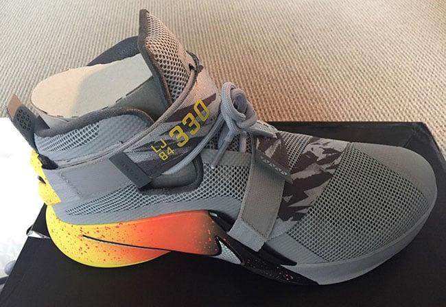 quality design 58637 ebcff Nike LeBron Soldier 9 The Academy Warhawk | SneakerFiles