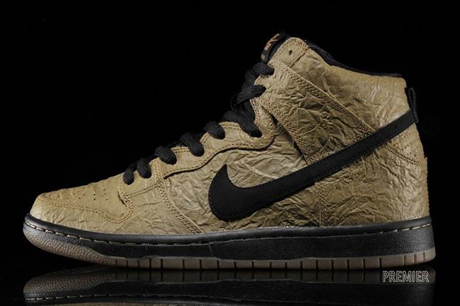 Nike SB Dunk High Brown Bag