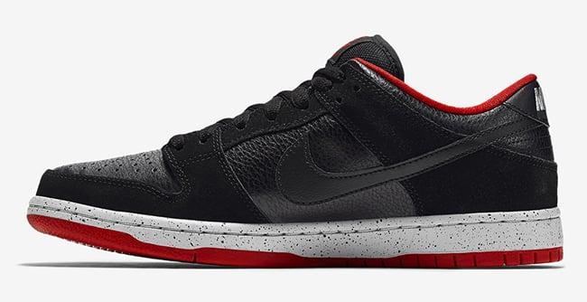 Nike SB Dunk Low Black Cement