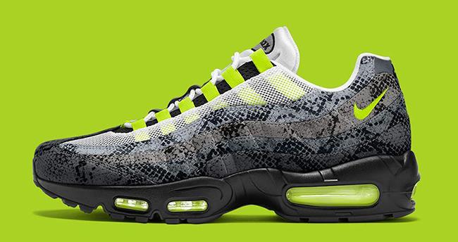 check out 48472 1e67d NikeiD Air Max 95 Snakeskin