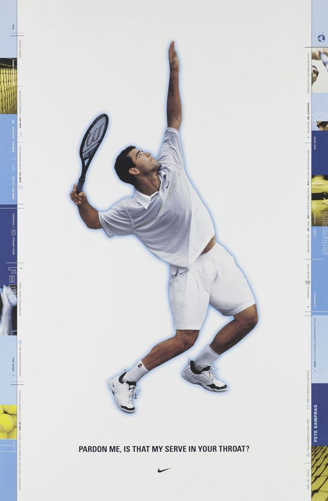 Pete Sampras Nike Air Oscillate
