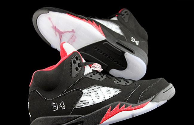 newest 60598 a62d0 Supreme Air Jordan 5 Black