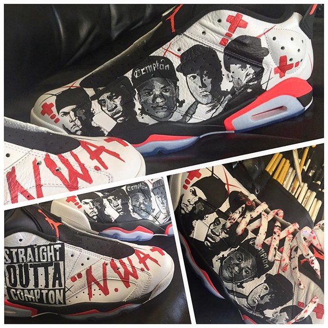 The Game Air Jordan 6 Low Straight Outta Compton