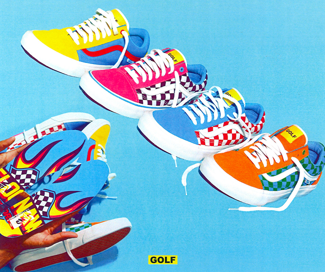 tyler the creator vans old skool golf wang sneakerfiles