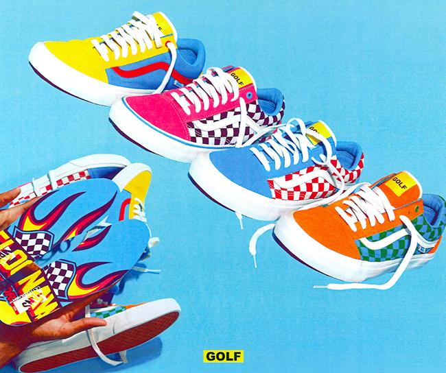eaef2d523350 Tyler the Creator Vans Old Skool Golf Wang