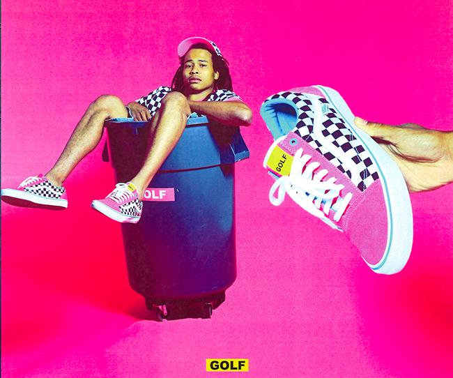 Tyler the Creator Vans Old Skool Golf Wang