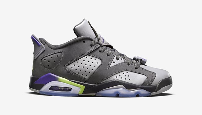 Air Jordan 6 Low GS Ultraviolet Kids