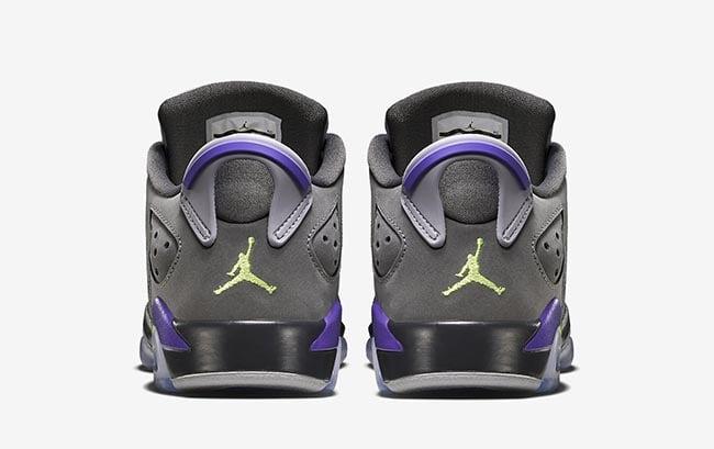 Air Jordan 6 Low GS Ultraviolet Kids