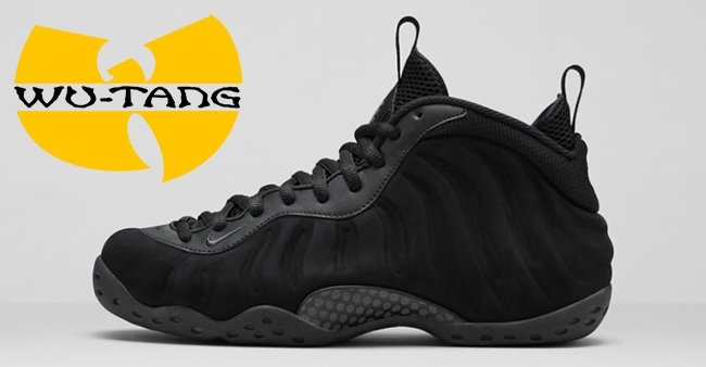 1a3b91626e8 the air foamposite one inspired by the wu tang klan arrives later in ...