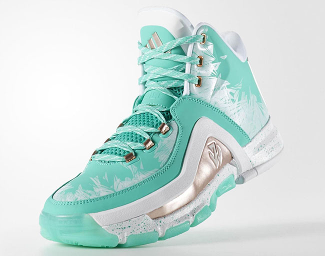 Adidas J Wall 2 Christmas Green Copper Sneakerfiles