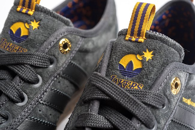 adidas Skateboarding The Hundreds Lakers