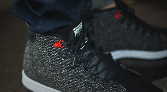 adidas stan smith mid nere