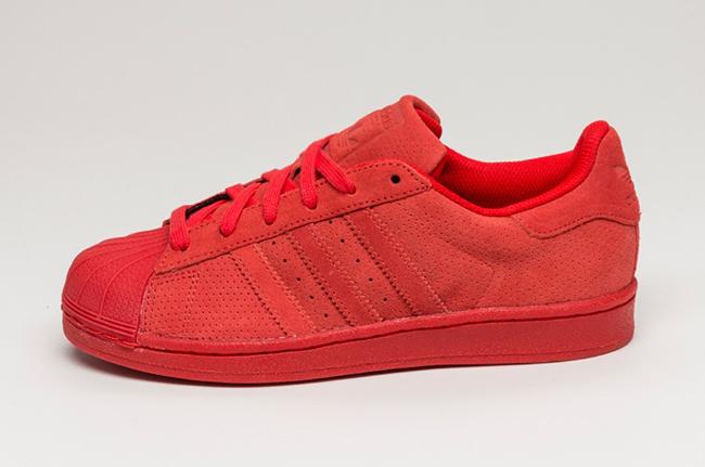 adidas Superstar Red Suede | SneakerFiles