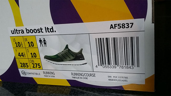 adidas Ultra Boost Base Green