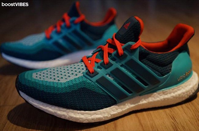 adidas Ultra Boost Miami Dolphins