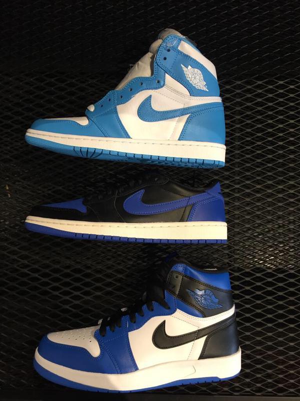 Air Jordan 1.5 The Return Royal Blue