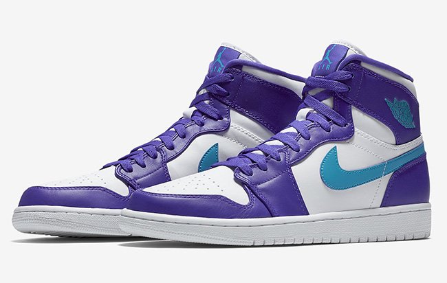 more photos f6301 42128 Air Jordan 1 High Hornets