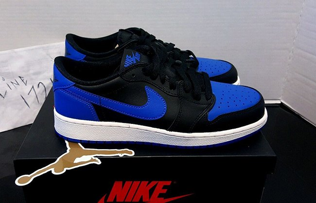 Air Jordan 1 Retro Low OG Royal
