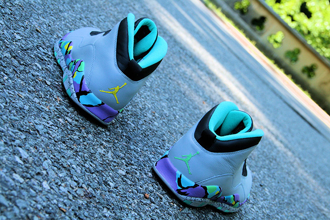 Air Jordan 10 Bel Air Abstract Custom